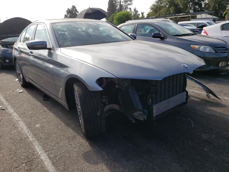 Salvage cars for sale from Copart Van Nuys, CA: 2020 BMW 530E