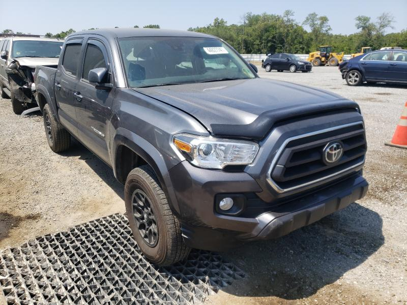 Salvage cars for sale from Copart Jacksonville, FL: 2020 Toyota Tacoma DOU