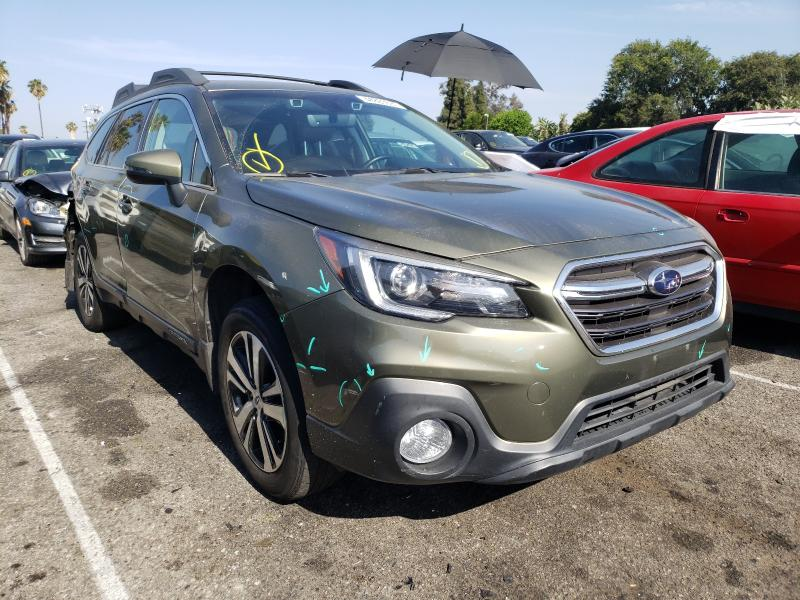 Salvage cars for sale from Copart Van Nuys, CA: 2018 Subaru Outback 3