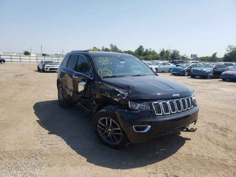 Salvage cars for sale from Copart Orlando, FL: 2017 Jeep Grand Cherokee