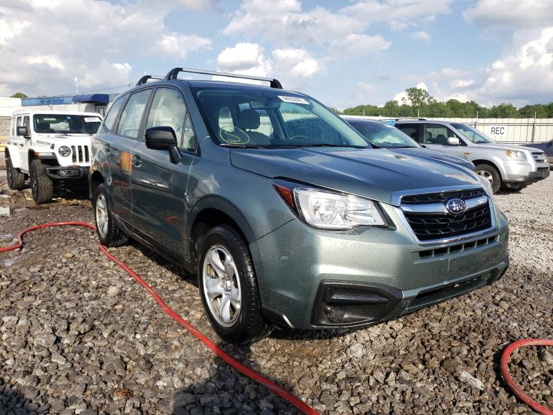 Salvage cars for sale from Copart Hueytown, AL: 2018 Subaru Forester 2