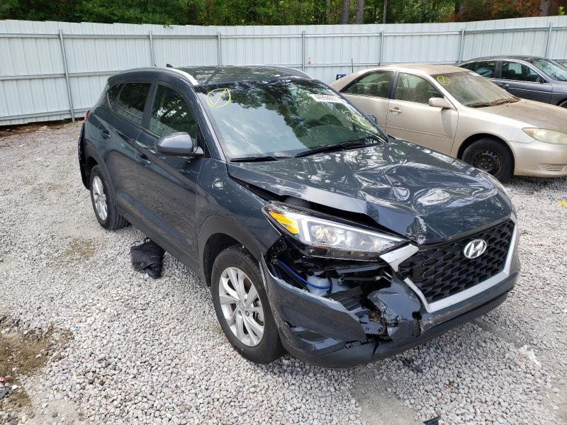 Salvage cars for sale from Copart Knightdale, NC: 2020 Hyundai Tucson Limited