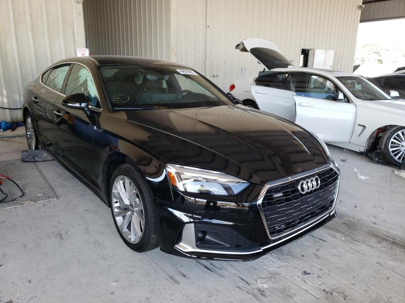 Salvage cars for sale at Homestead, FL auction: 2020 Audi A5 Premium