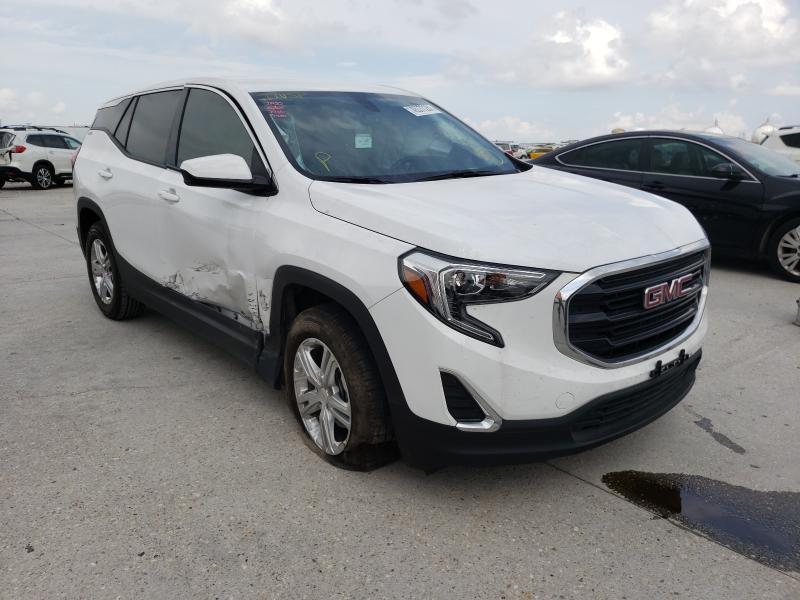 GMC Terrain salvage cars for sale: 2019 GMC Terrain
