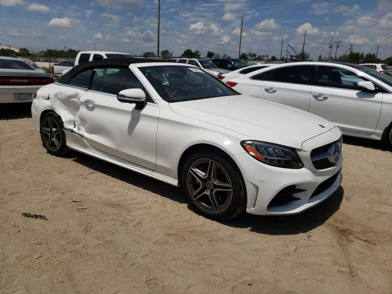 Salvage cars for sale from Copart West Palm Beach, FL: 2021 Mercedes-Benz C 300 4matic