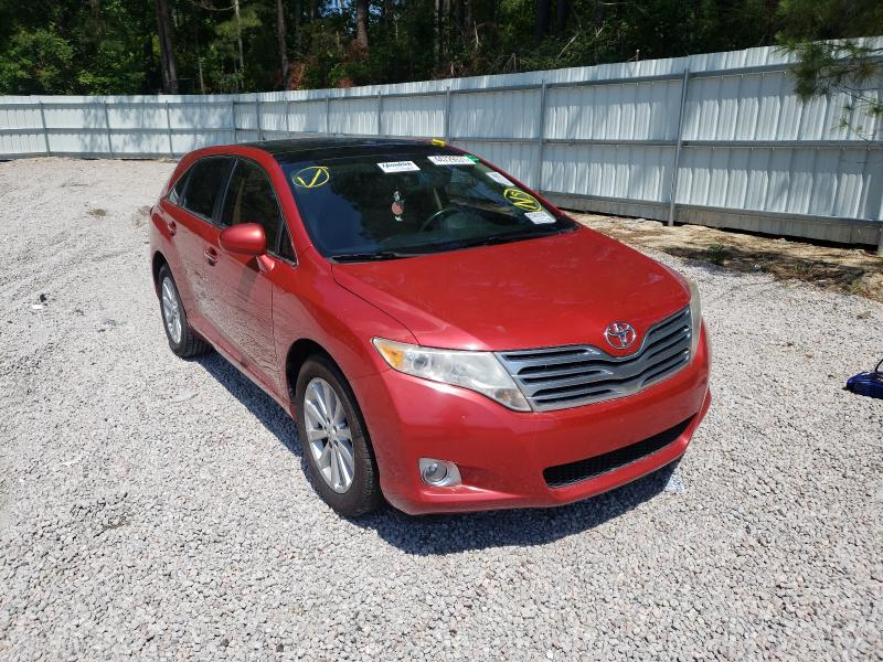 Salvage cars for sale from Copart Knightdale, NC: 2010 Toyota Venza