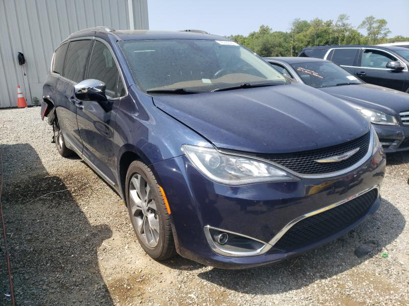 Salvage cars for sale from Copart Jacksonville, FL: 2017 Chrysler Pacifica L
