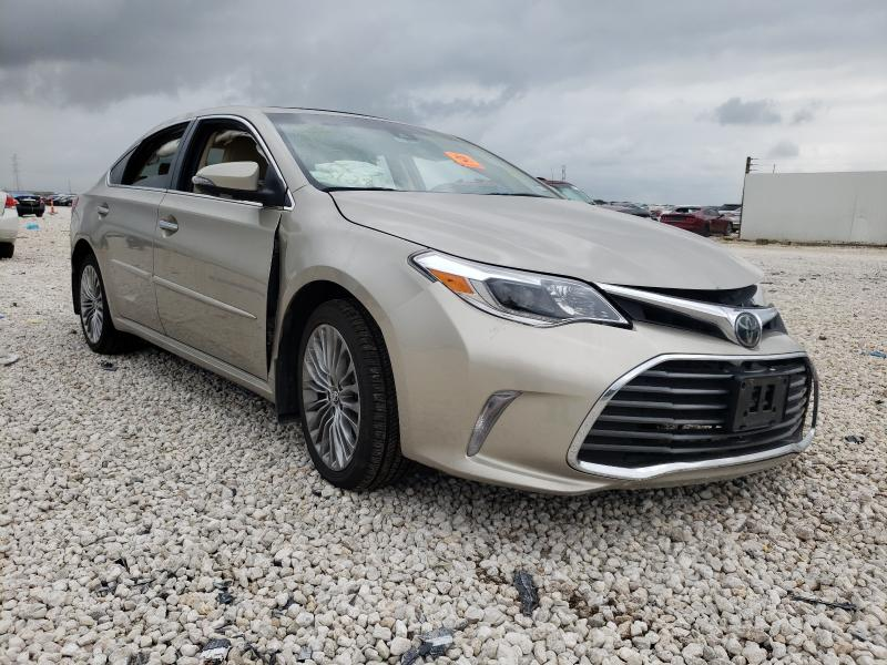 Salvage cars for sale from Copart New Braunfels, TX: 2018 Toyota Avalon XLE