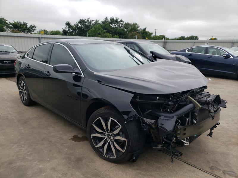 Vehiculos salvage en venta de Copart Wilmer, TX: 2021 Chevrolet Malibu RS
