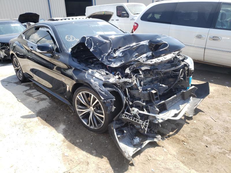 Salvage cars for sale from Copart Apopka, FL: 2017 Infiniti Q60 Premium