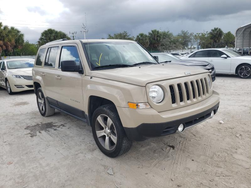 Salvage cars for sale from Copart West Palm Beach, FL: 2017 Jeep Patriot LA