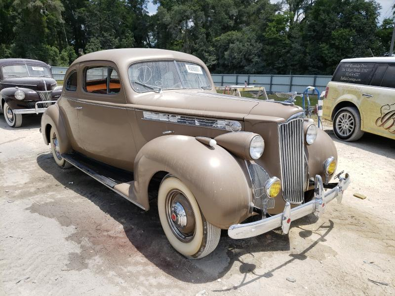 Salvage cars for sale from Copart Ocala, FL: 1940 Packard Coupe