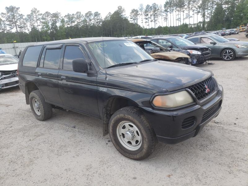 Salvage cars for sale from Copart Harleyville, SC: 2001 Mitsubishi Montero SP