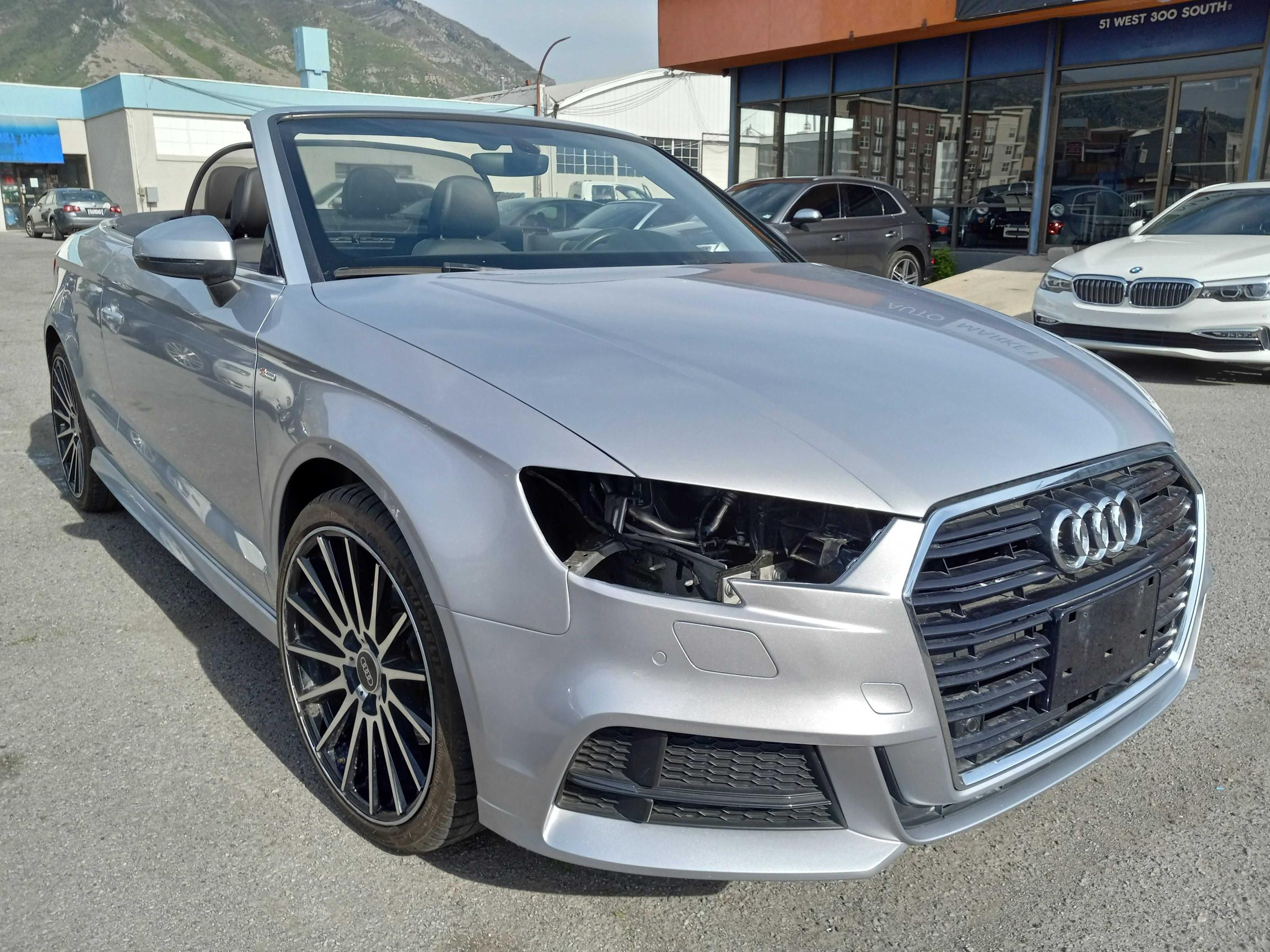 Salvage cars for sale from Copart Magna, UT: 2017 Audi A3 Premium