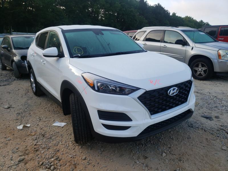 Salvage cars for sale from Copart Austell, GA: 2021 Hyundai Tucson SE