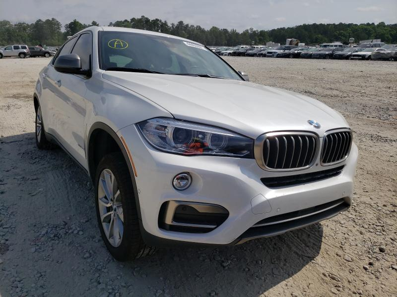 Salvage cars for sale from Copart Ellenwood, GA: 2019 BMW X6 SDRIVE3