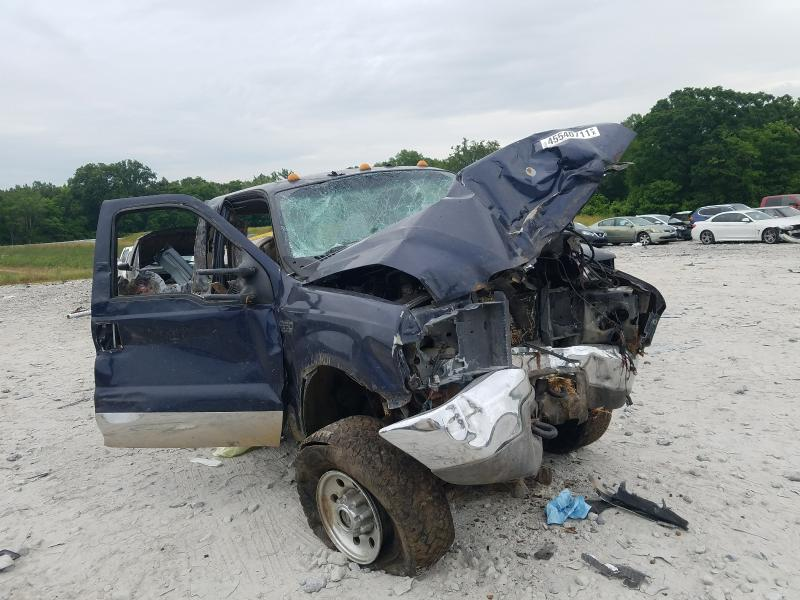 Salvage cars for sale at Cartersville, GA auction: 2004 Ford F350 SRW S