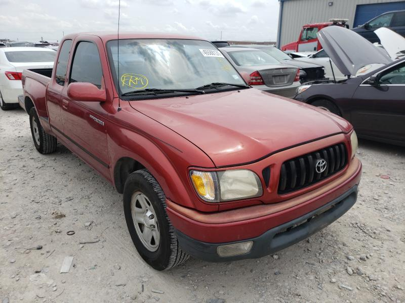 Salvage cars for sale from Copart Haslet, TX: 2001 Toyota Tacoma XTR