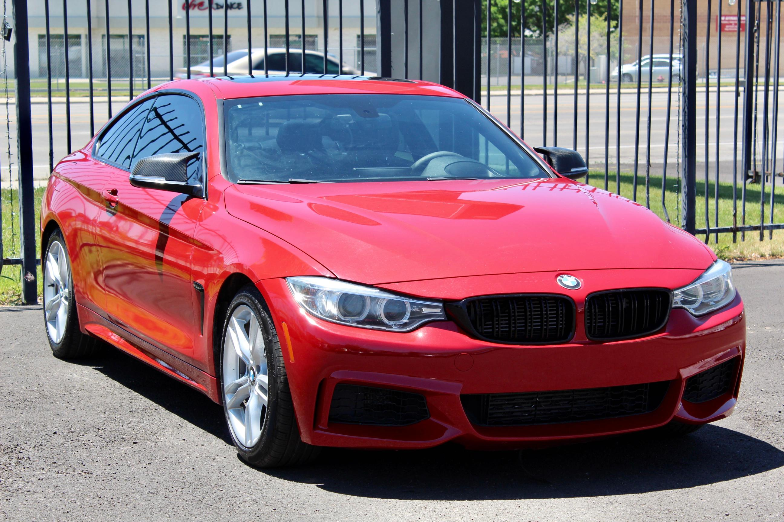 Salvage cars for sale from Copart Magna, UT: 2014 BMW 435 I