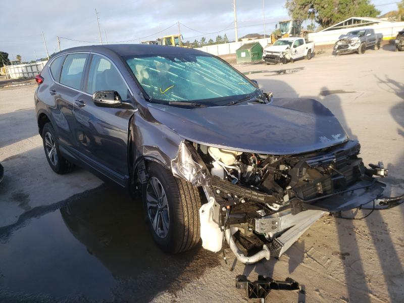 Salvage cars for sale from Copart Riverview, FL: 2021 Honda CR-V LX