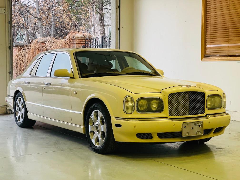 Bentley salvage cars for sale: 2001 Bentley Arnage