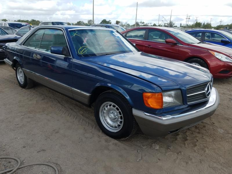 Salvage cars for sale from Copart West Palm Beach, FL: 1984 Mercedes-Benz 500 SEC