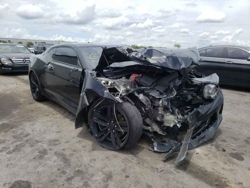Salvage cars for sale from Copart Orlando, FL: 2018 Chevrolet Camaro LT