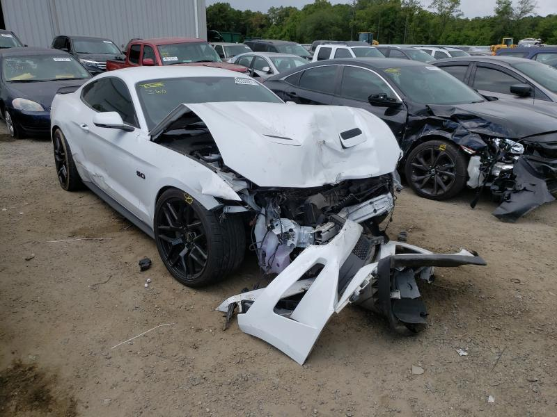 Salvage cars for sale from Copart Jacksonville, FL: 2018 Ford Mustang GT