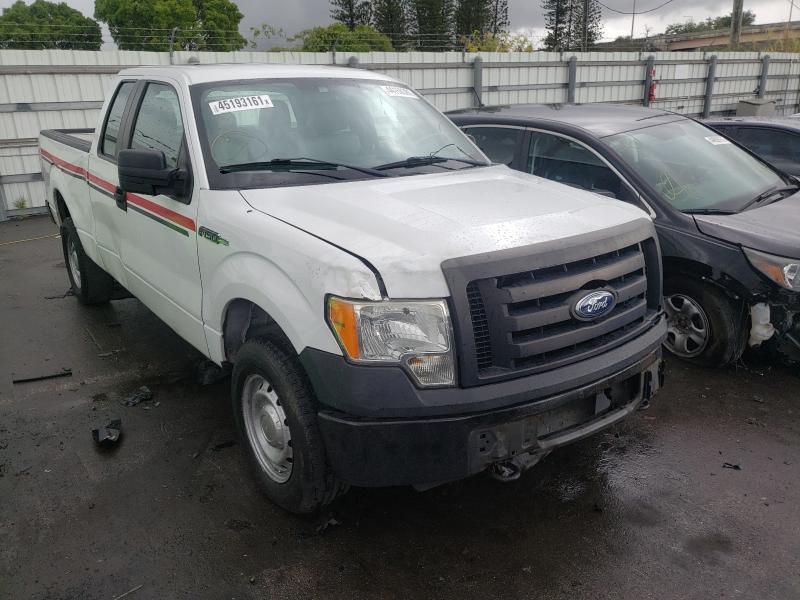 Salvage trucks for sale at Miami, FL auction: 2011 Ford F150 Super