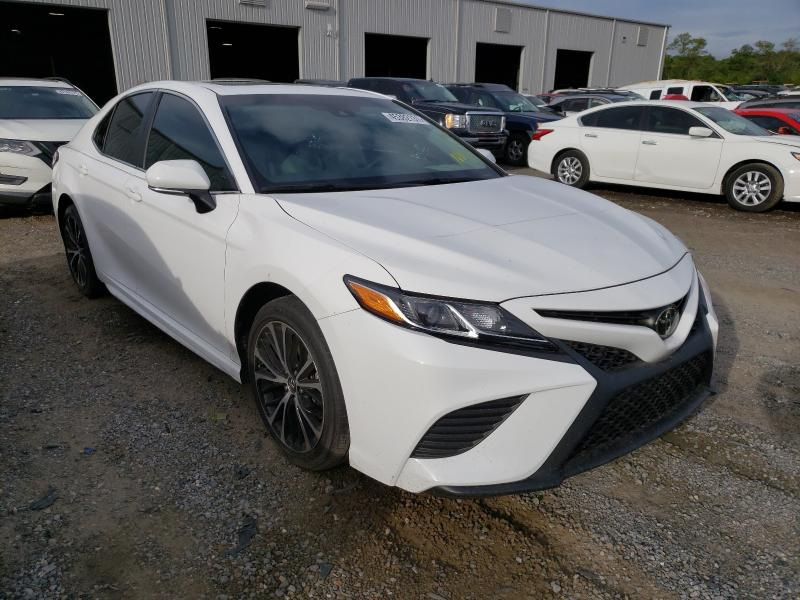Salvage cars for sale from Copart Jacksonville, FL: 2018 Toyota Camry L