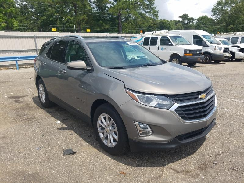 Salvage trucks for sale at Eight Mile, AL auction: 2019 Chevrolet Equinox LT