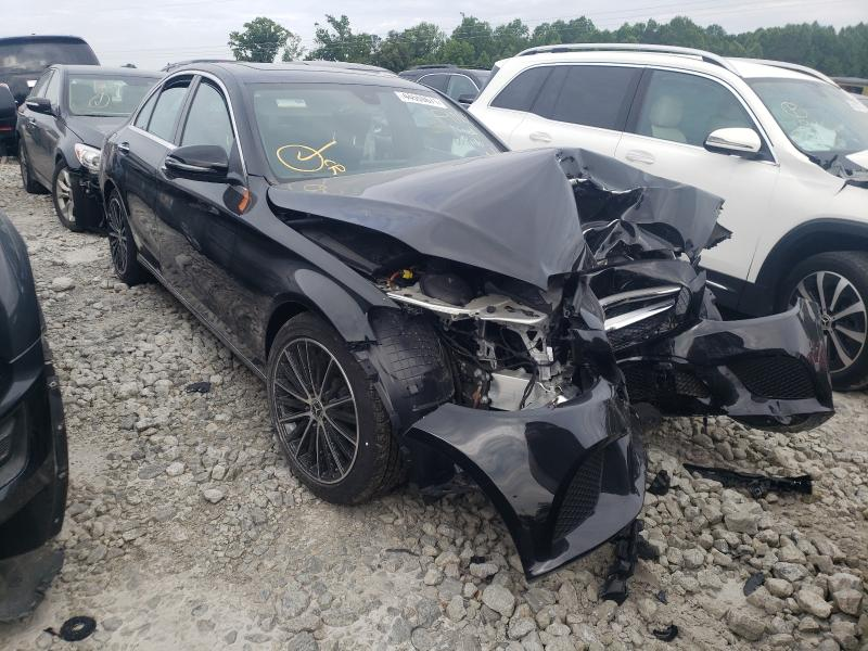 Salvage cars for sale from Copart Loganville, GA: 2021 Mercedes-Benz C300