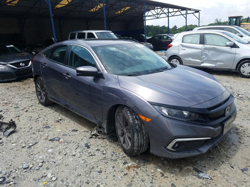 Vehiculos salvage en venta de Copart Cartersville, GA: 2020 Honda Civic EXL