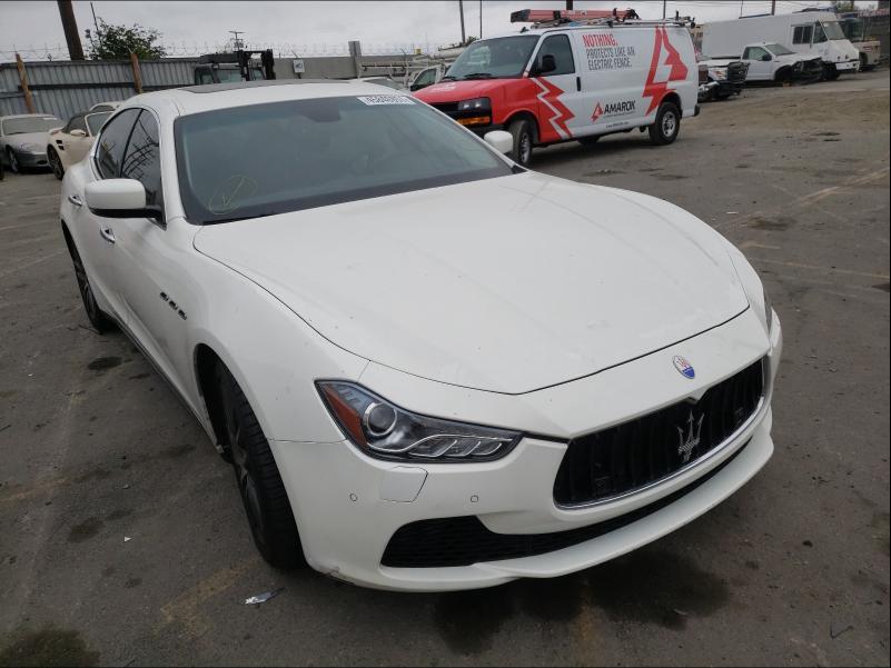 Maserati Ghibli S salvage cars for sale: 2014 Maserati Ghibli S