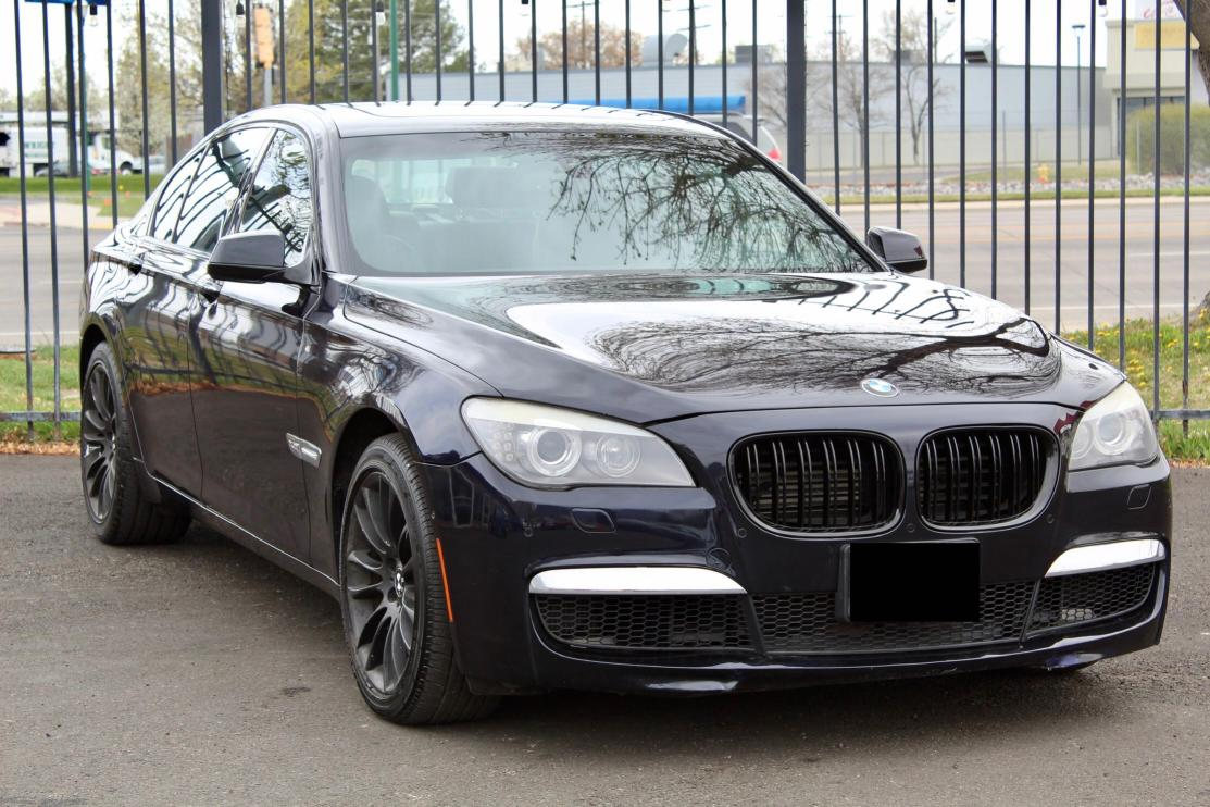 BMW Vehiculos salvage en venta: 2010 BMW 750 I Xdrive