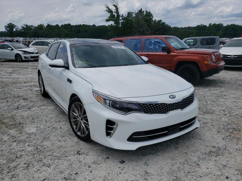 Salvage cars for sale from Copart Loganville, GA: 2016 KIA Optima SXL