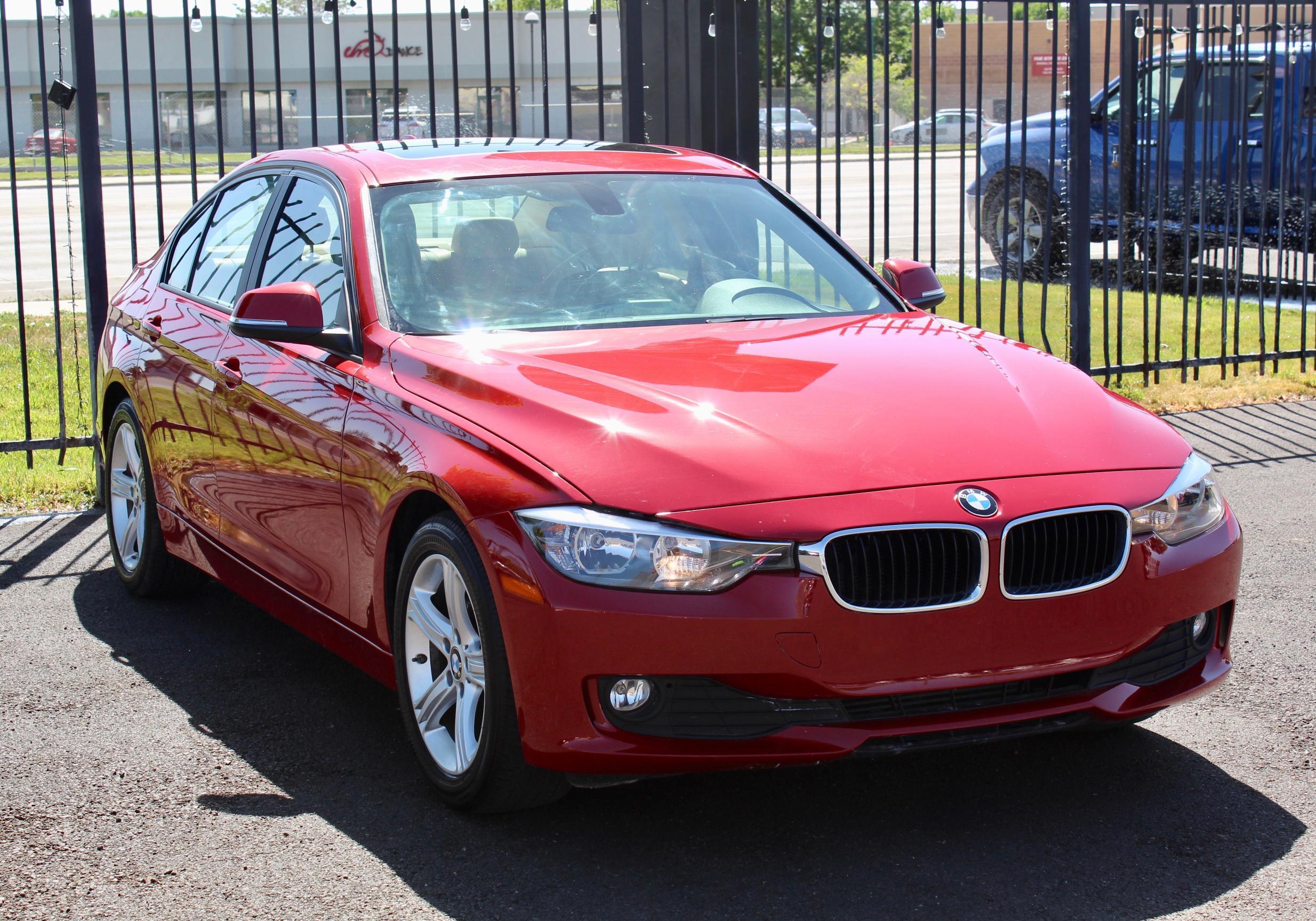 BMW Vehiculos salvage en venta: 2015 BMW 320 I