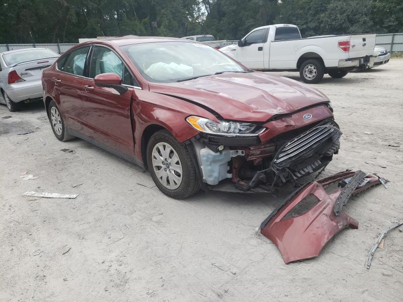 Salvage 2014 FORD FUSION - Small image. Lot 46665941