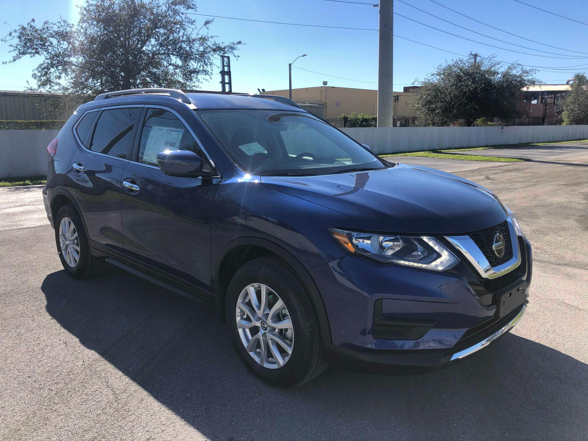 Salvage cars for sale at Miami, FL auction: 2020 Nissan Rogue S