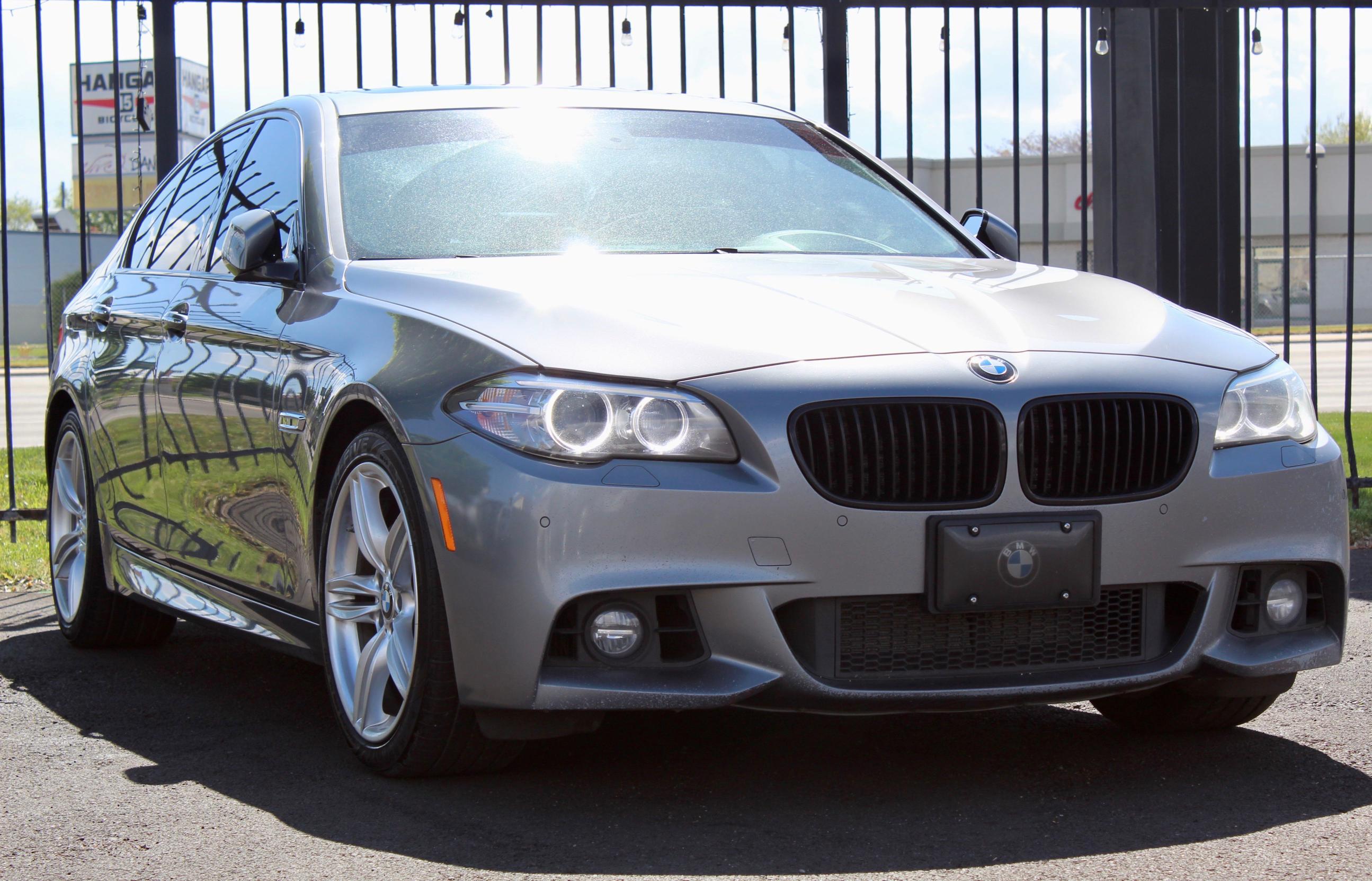BMW Vehiculos salvage en venta: 2015 BMW 535 I
