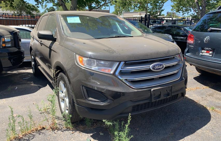 Salvage cars for sale from Copart Antelope, CA: 2015 Ford Edge SE
