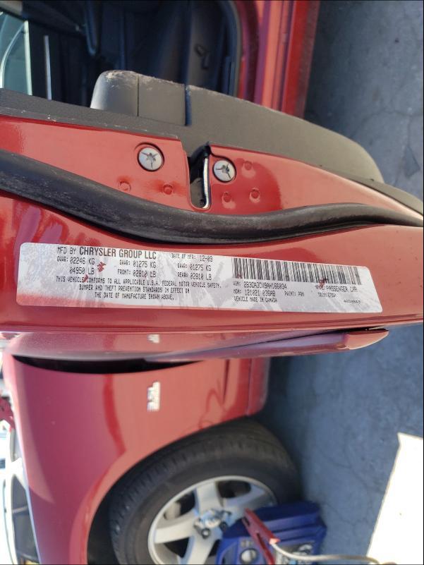 2010 DODGE CHARGER SX 2B3CA3CV9AH166034