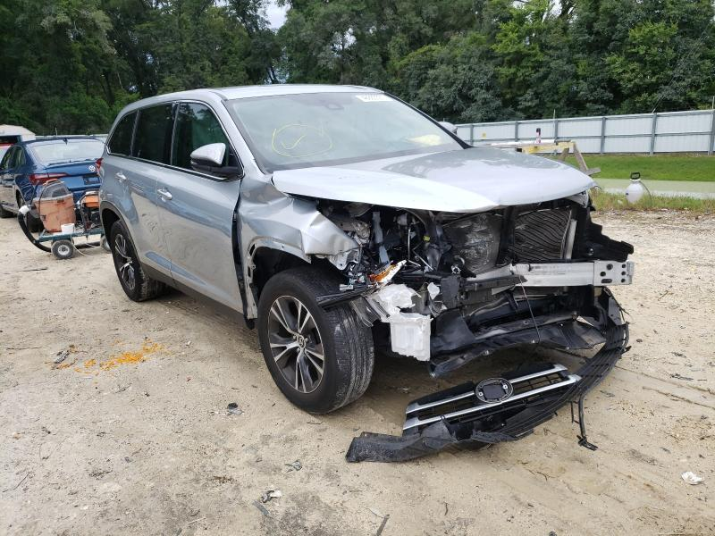 Salvage cars for sale from Copart Ocala, FL: 2019 Toyota Highlander