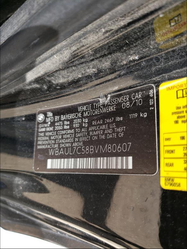 WBAUL7C58BVM80607