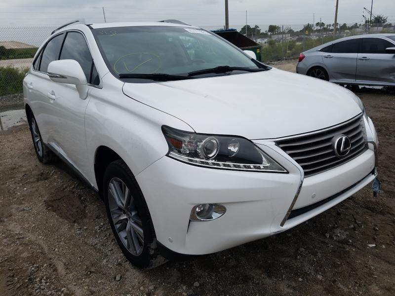 Salvage cars for sale from Copart West Palm Beach, FL: 2015 Lexus RX 350