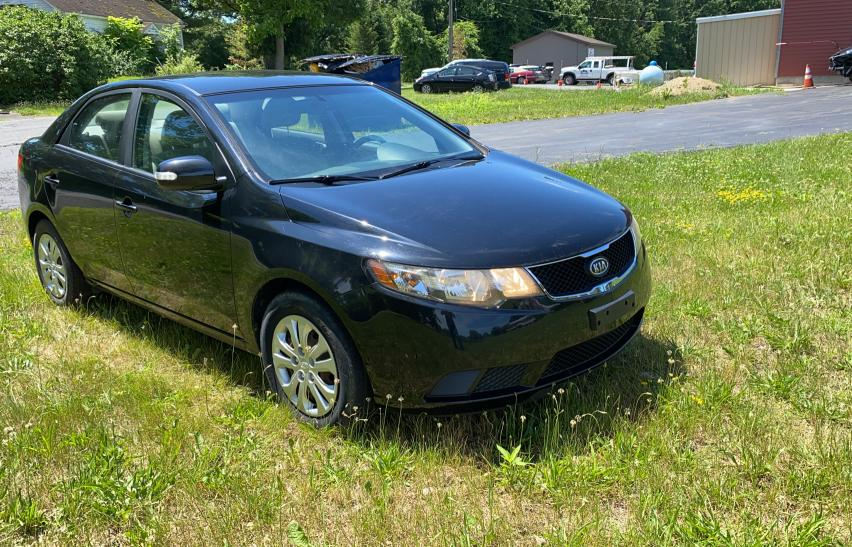 Salvage cars for sale from Copart Albany, NY: 2010 KIA Forte EX