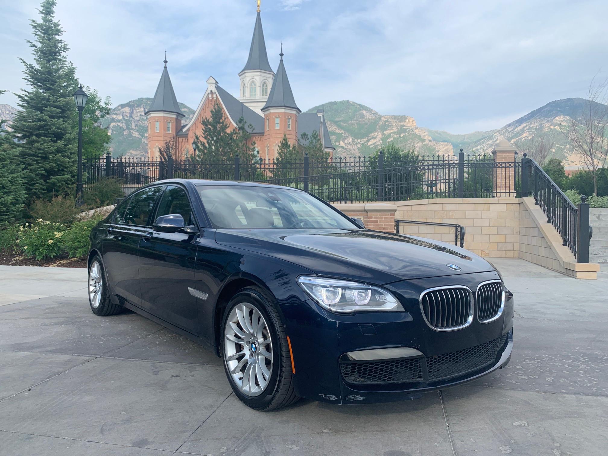 2014 BMW 750LI Xdrive en venta en Las Vegas, NV