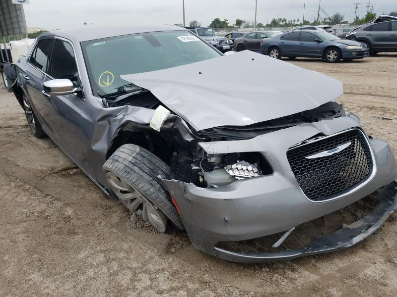 Salvage cars for sale from Copart West Palm Beach, FL: 2018 Chrysler 300 Limited