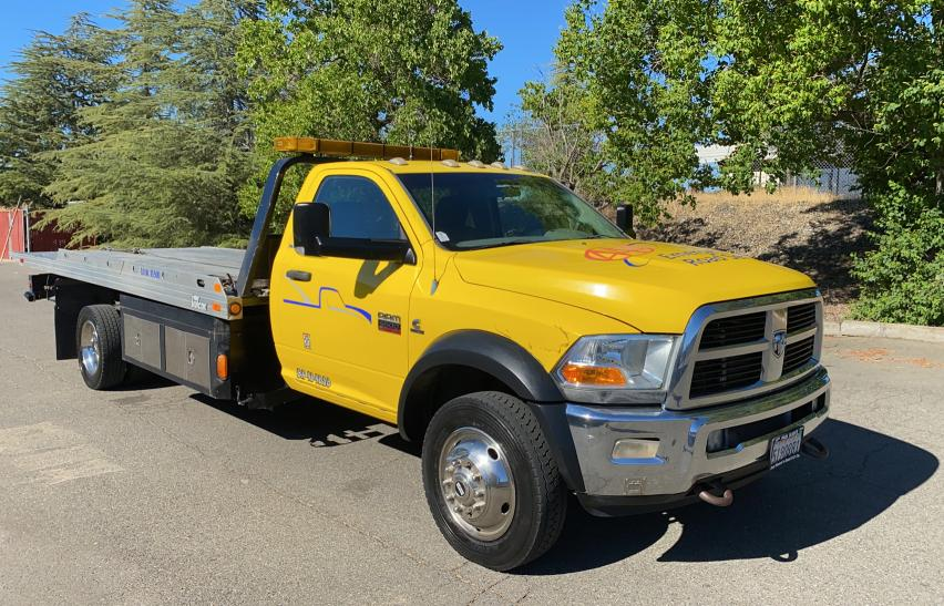 Salvage cars for sale from Copart Antelope, CA: 2011 Dodge RAM 5500 S