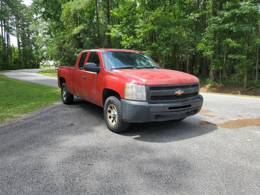 Salvage cars for sale from Copart Harleyville, SC: 2010 Chevrolet Silverado